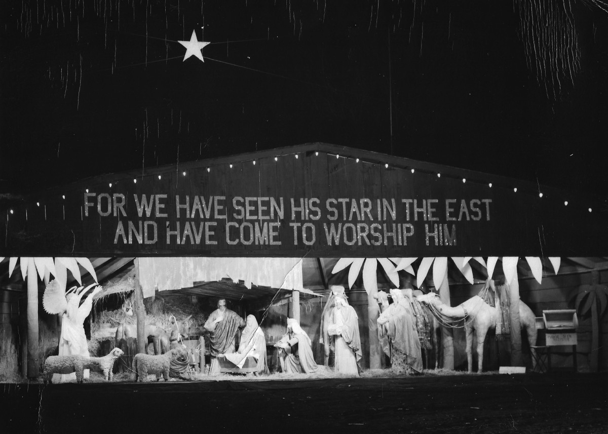 Agnes Dunham's Nativity Scene, 1960s