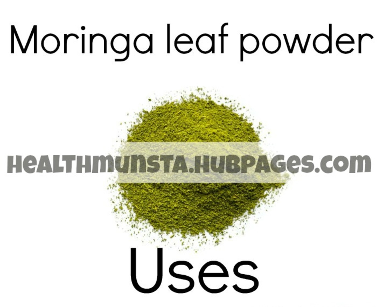 Moringa leaf powder has many uses including serving as a remedy for skin issues and acting as a powerful aphrodisiac.
