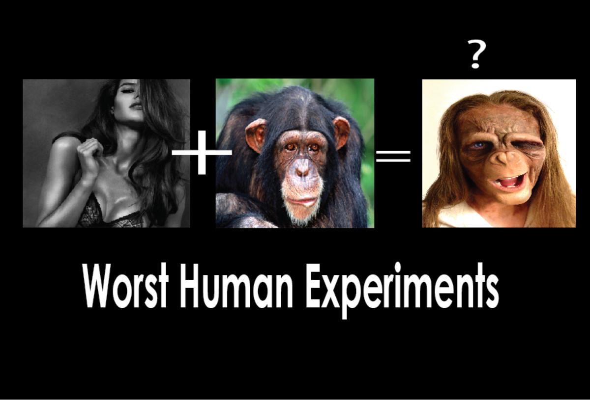 Top 10 Worst Human Experiments
