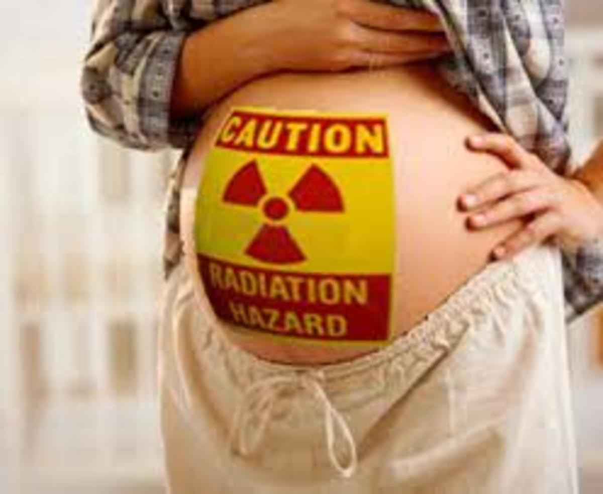 Radioactive Materials in Pregnant Women