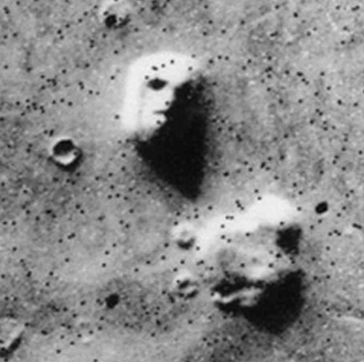 Are conspiracy theories just a form of mental pareidolia - the psychological equivalent of seeing faces on Mars?