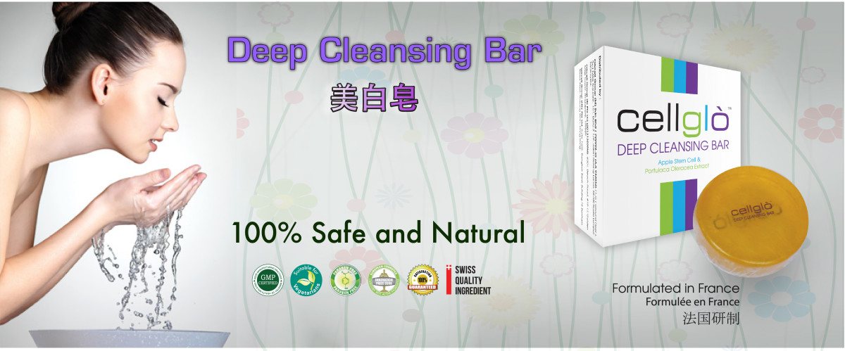 Review on Cellglo Facial Soap Bar in Malaysia