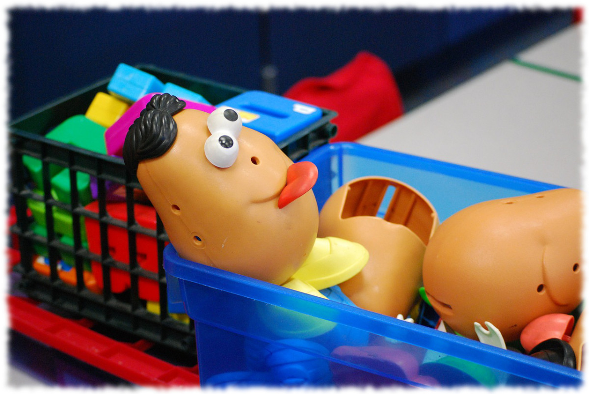 Mr. Potato Head = Hours of Fun