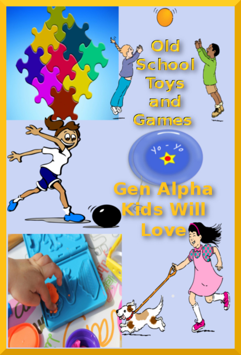 Old School Toys and Games Gen Alpha Kids Love