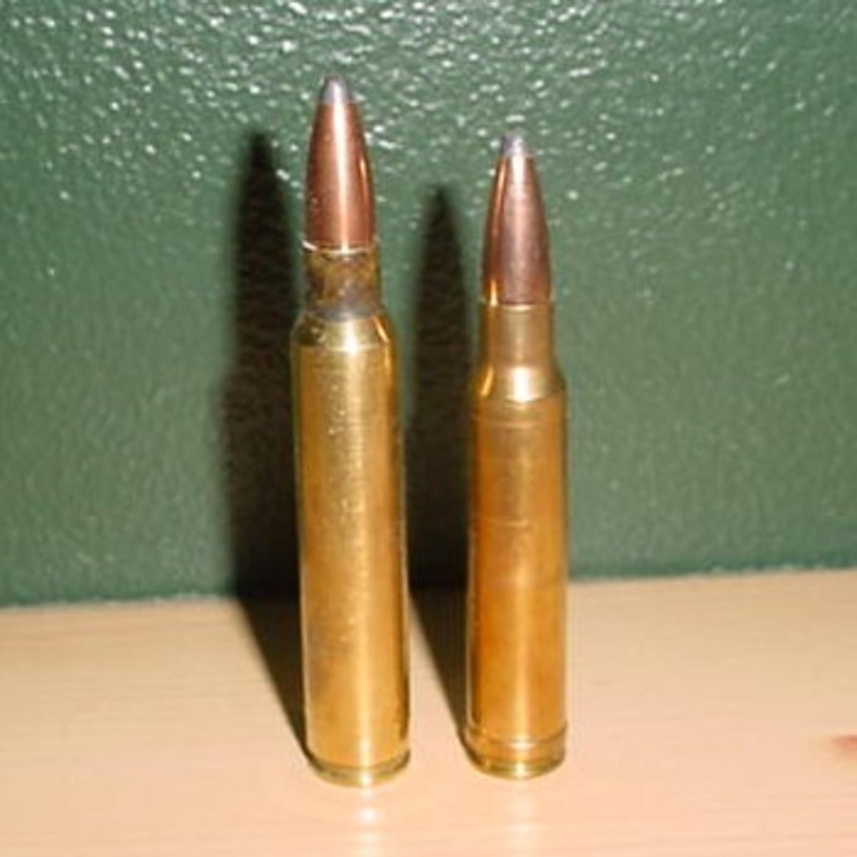 .338 Lapua Magnum vs .338 Win Mag