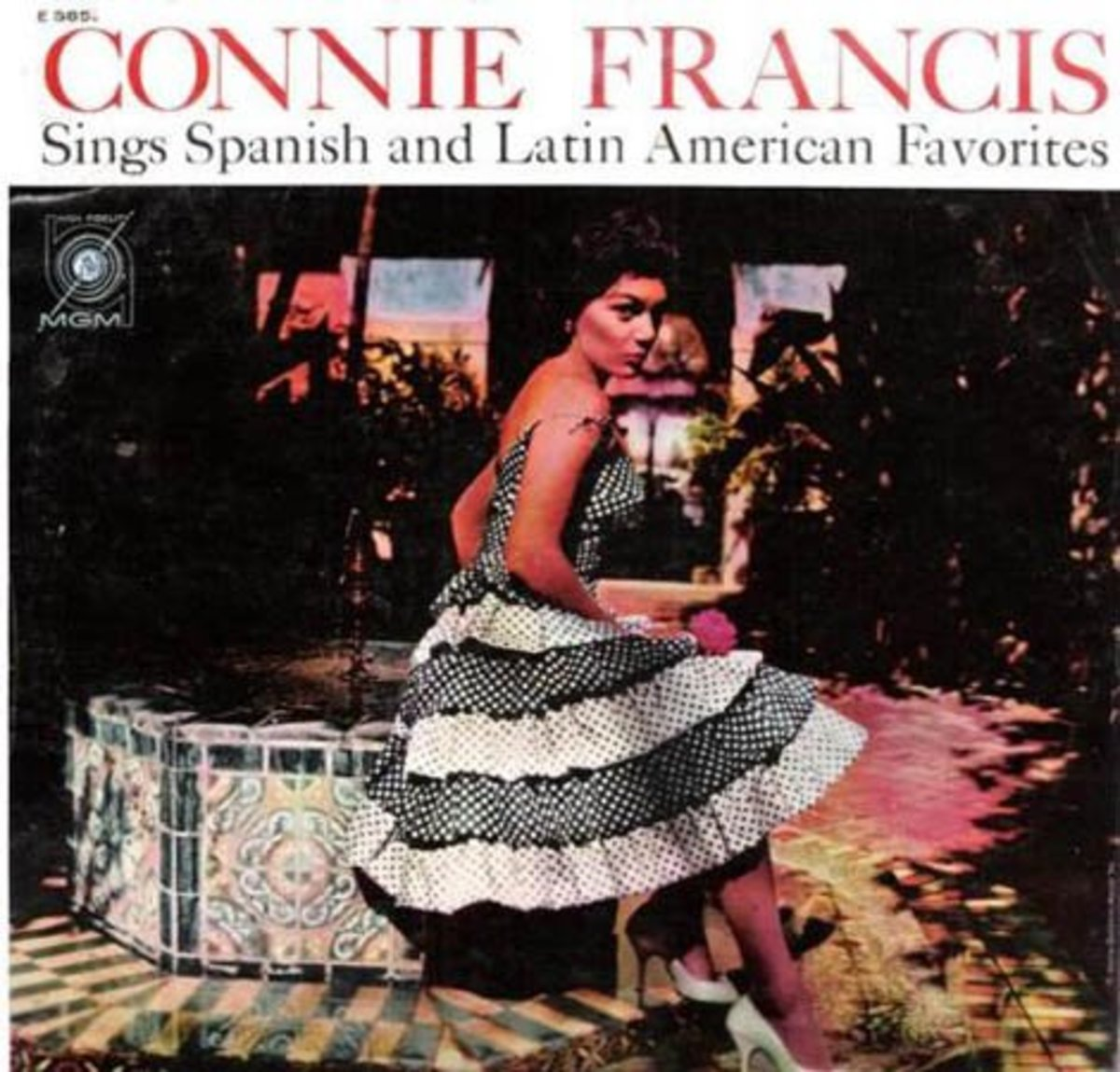 Connie Francis Sings Spanish and Latin American Favorites ( 1960 MGM Records)