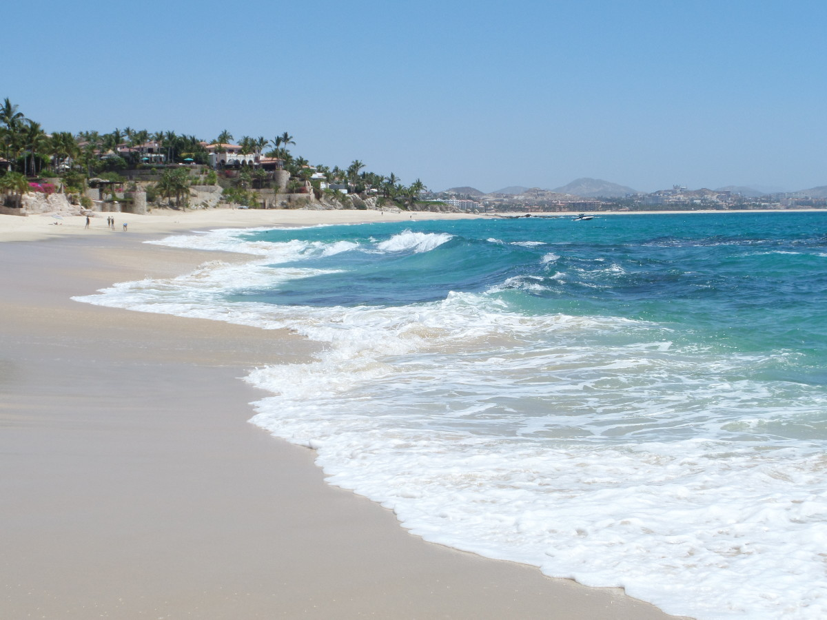The beautiful Palmilla Beach.