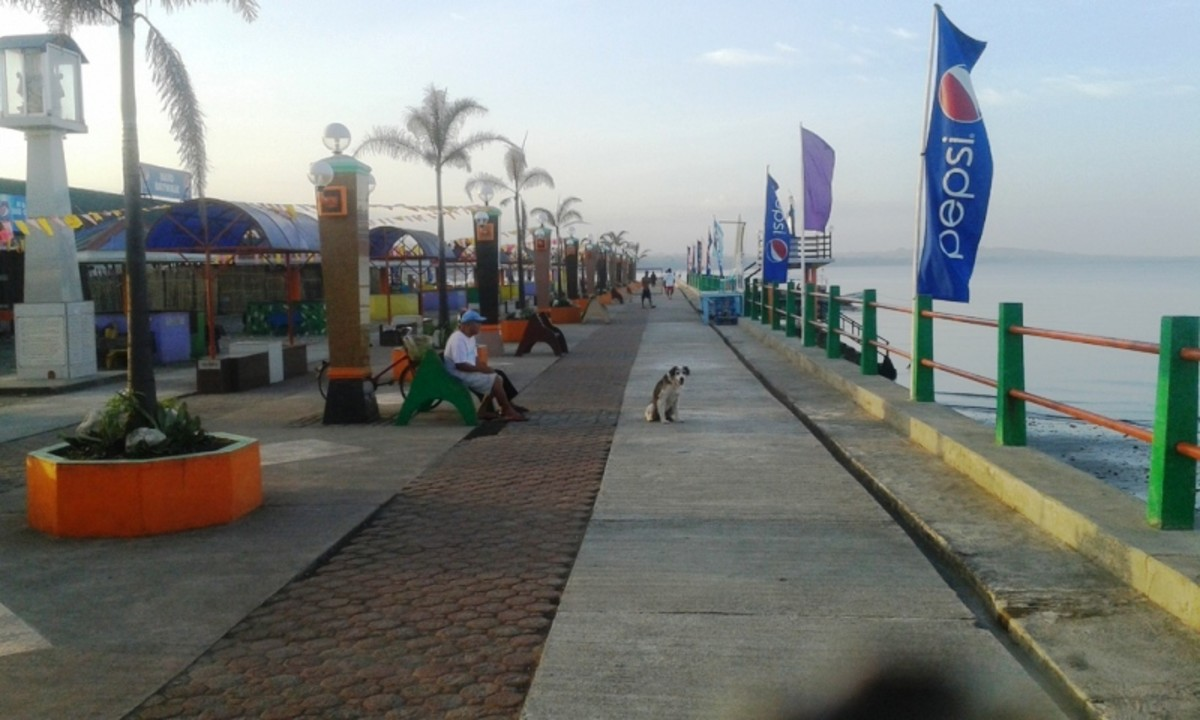 Bato Baywalk morning stroll.