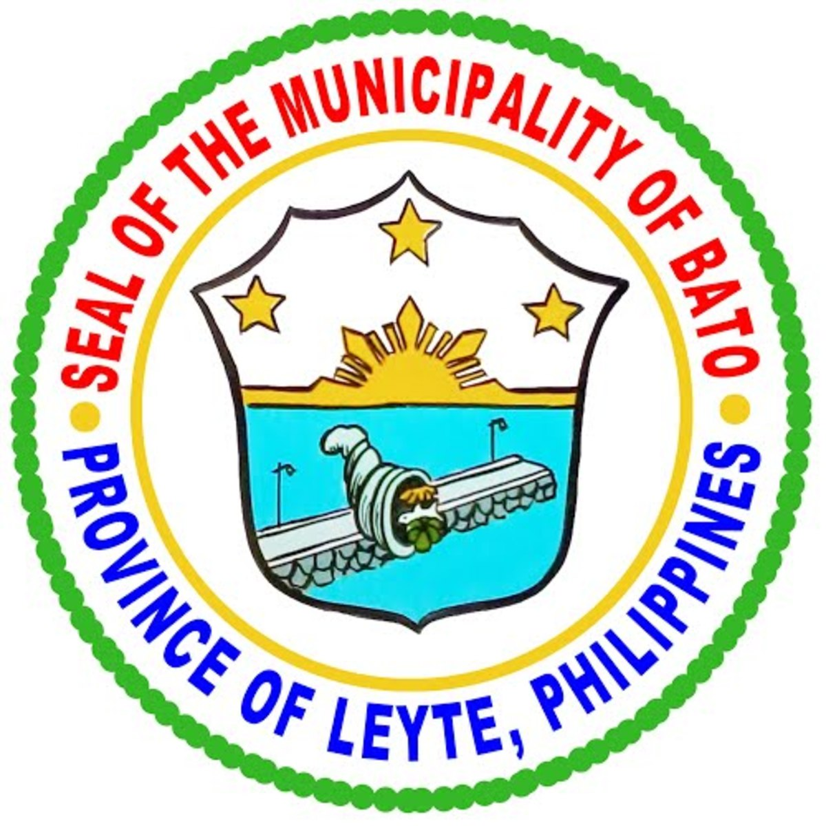 Municipality of Bato, Leyte Official Seal