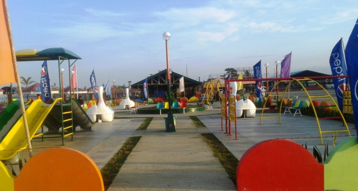 Kid's Playground Bato Baywalk.