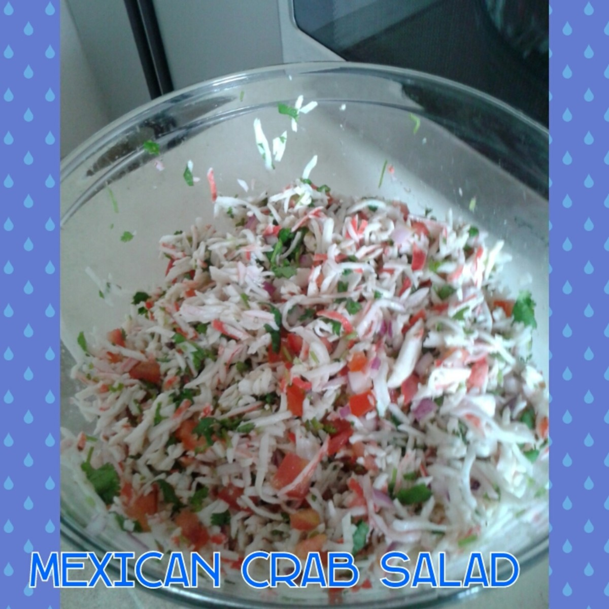 This is how i do the Mexican imitation crab salad.