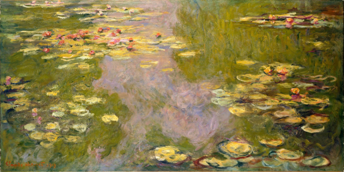 Water Lilies, 1919, Metropolitan Museum of Art, New York