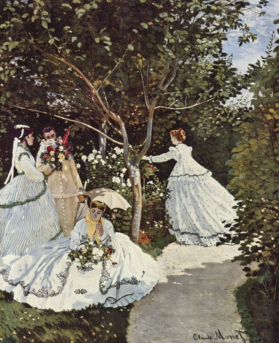 Women in a Garden, 1866–1867, Musée d'Orsay, Paris