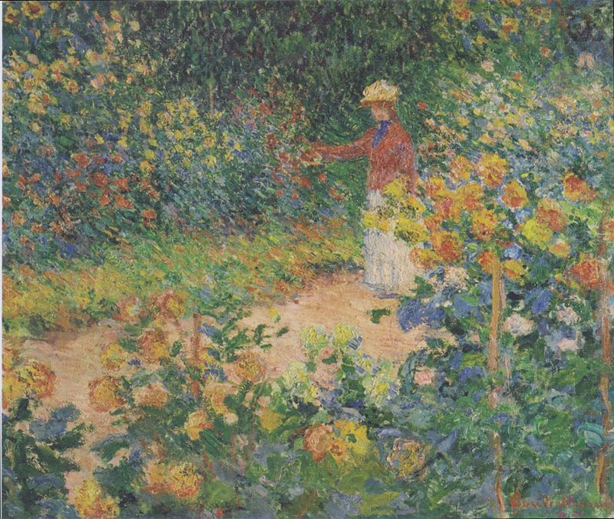 In the Garden, Claude Monet 1895