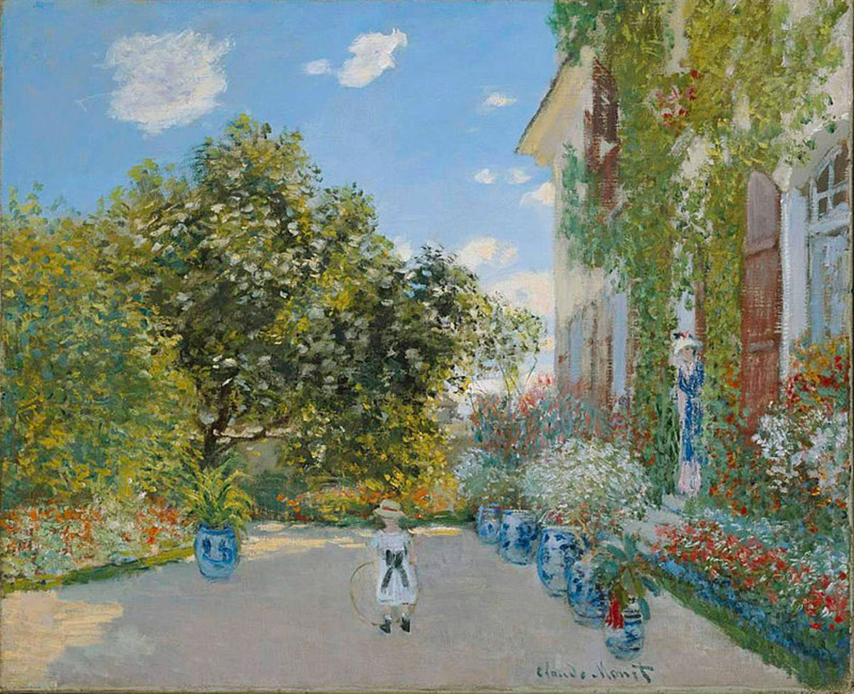 The Artist's house at Argenteuil, 1873, The Art Institute of Chicago