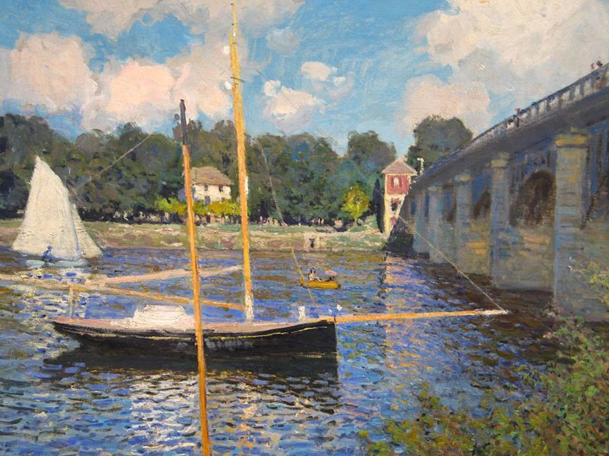 Argenteuil,  Claude Monet, 1874, National Gallery of Art, Washington D.C.