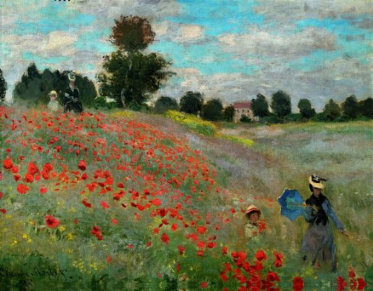 Field of Poppies, Claude Monet, 1873-1878 Museum d'Orsay