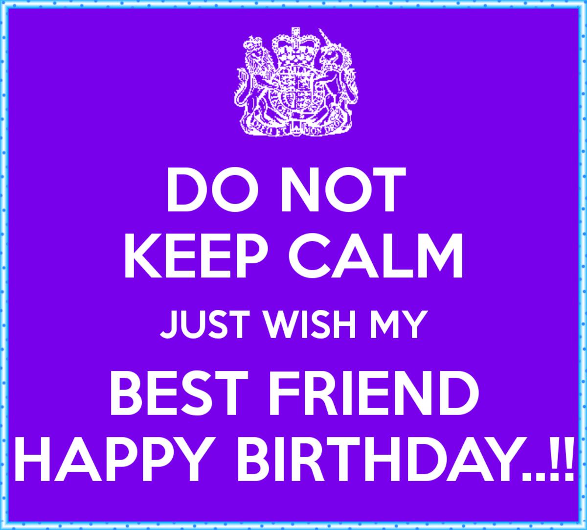 Happy Birthday Letter For Best Friend Boy Birthday Wishes For Best