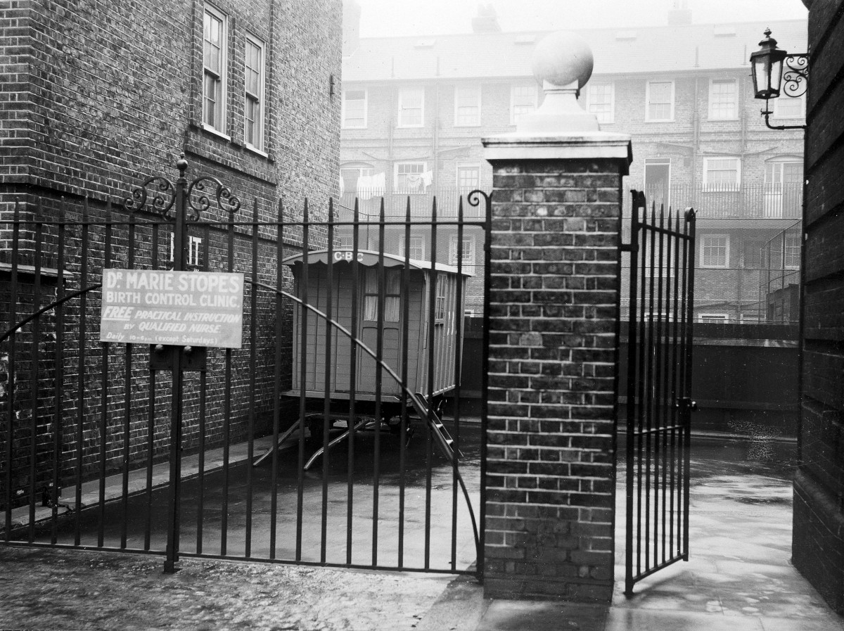 Dr. Marie Stopes Birth Control Clinic, and early birth control clinic.