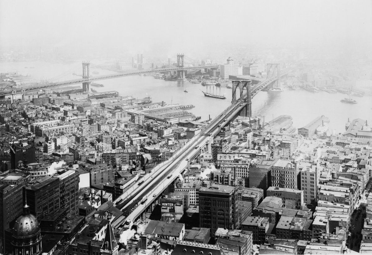 Faded view of Brooklyn 1916