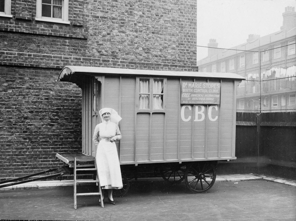 Birth Control Clinic in a caravan