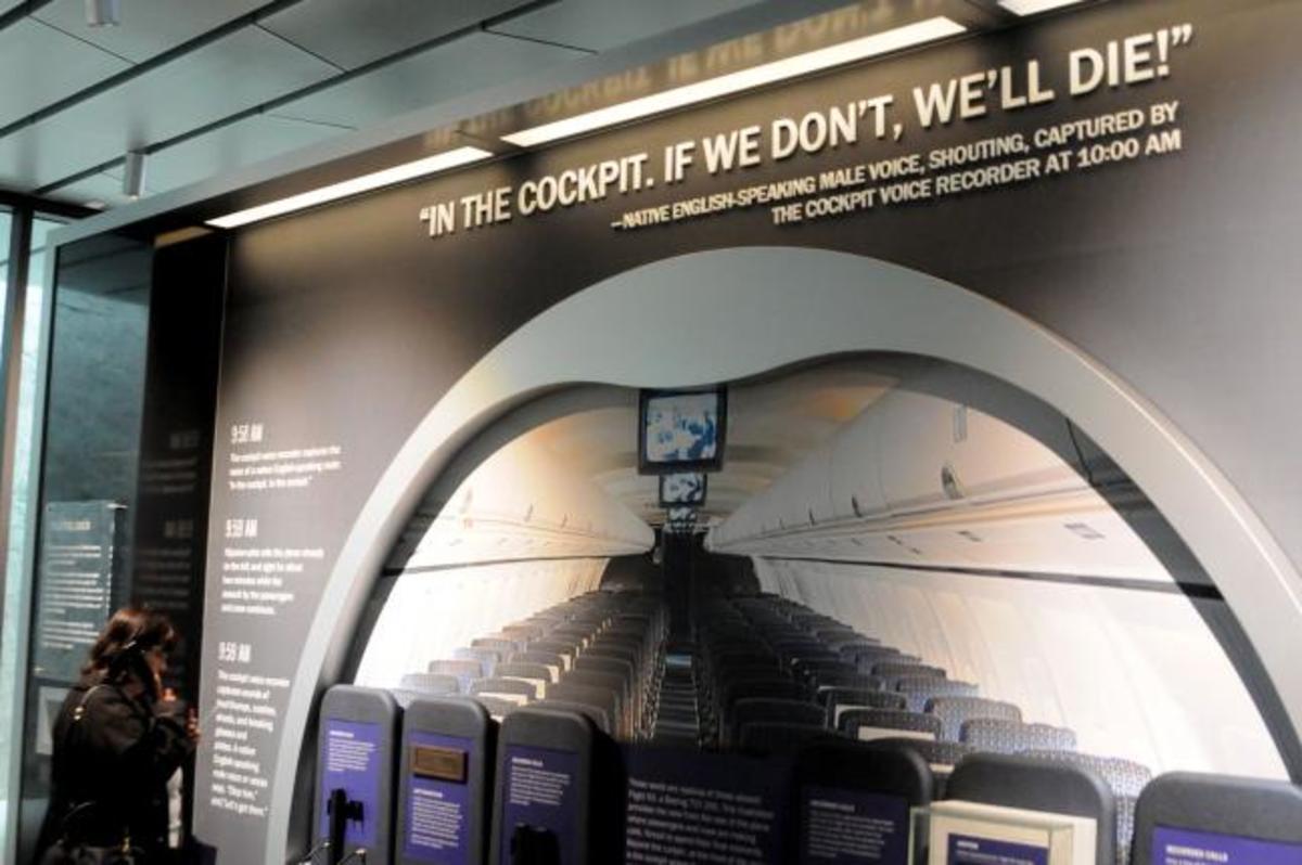 Display At Flight 93 Memorial