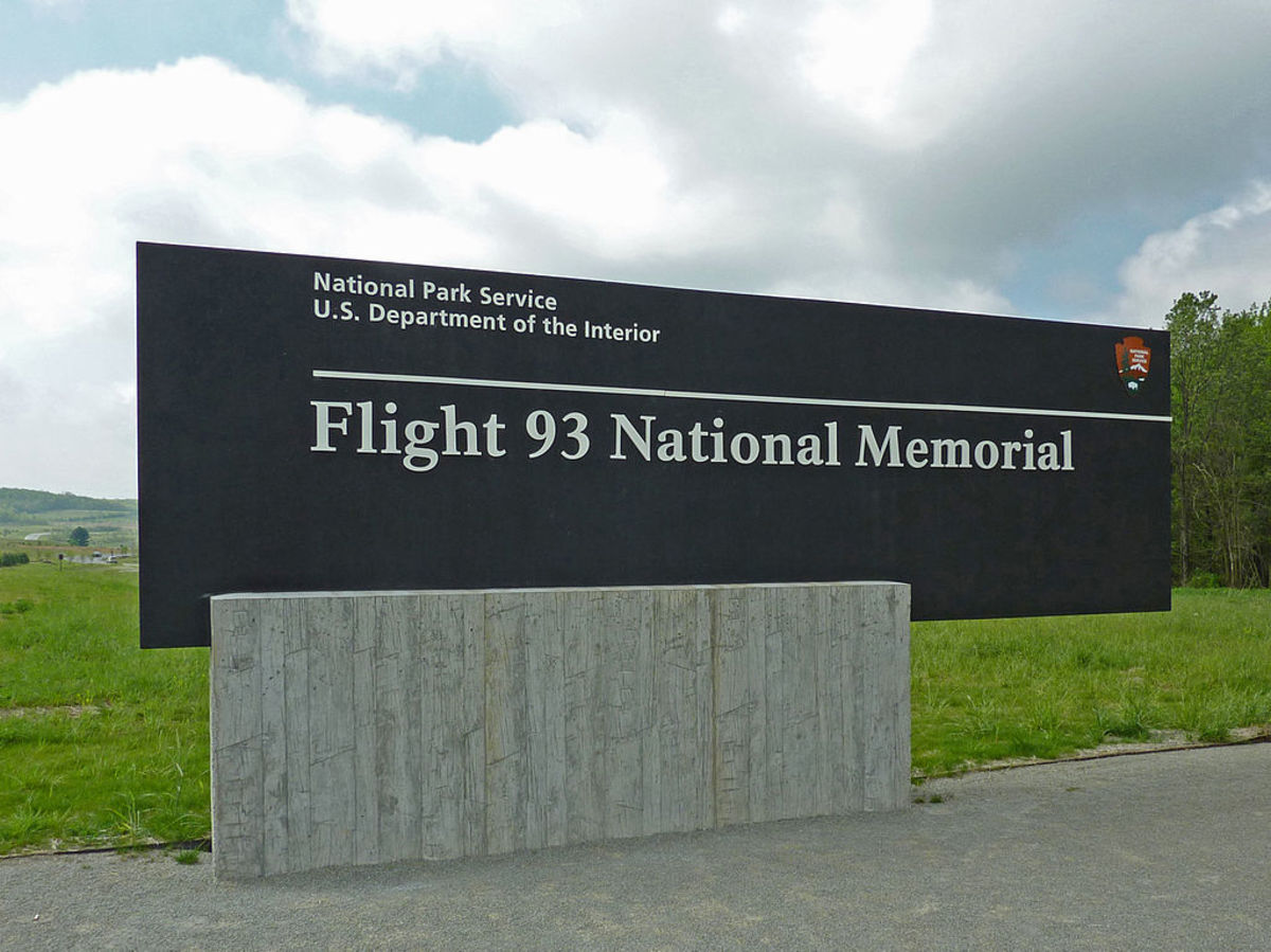 Entrance To Flight 93 Memorial