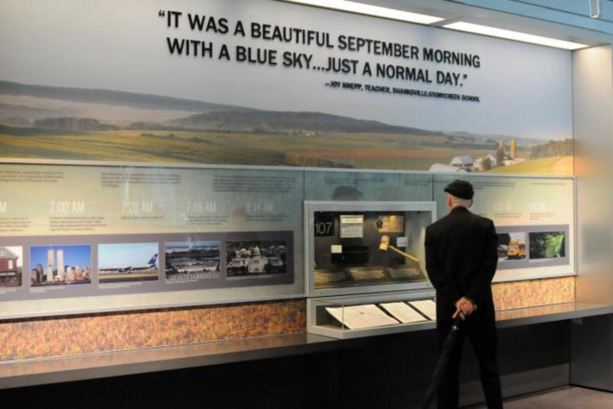 Flight 93 Memorial Exhibit