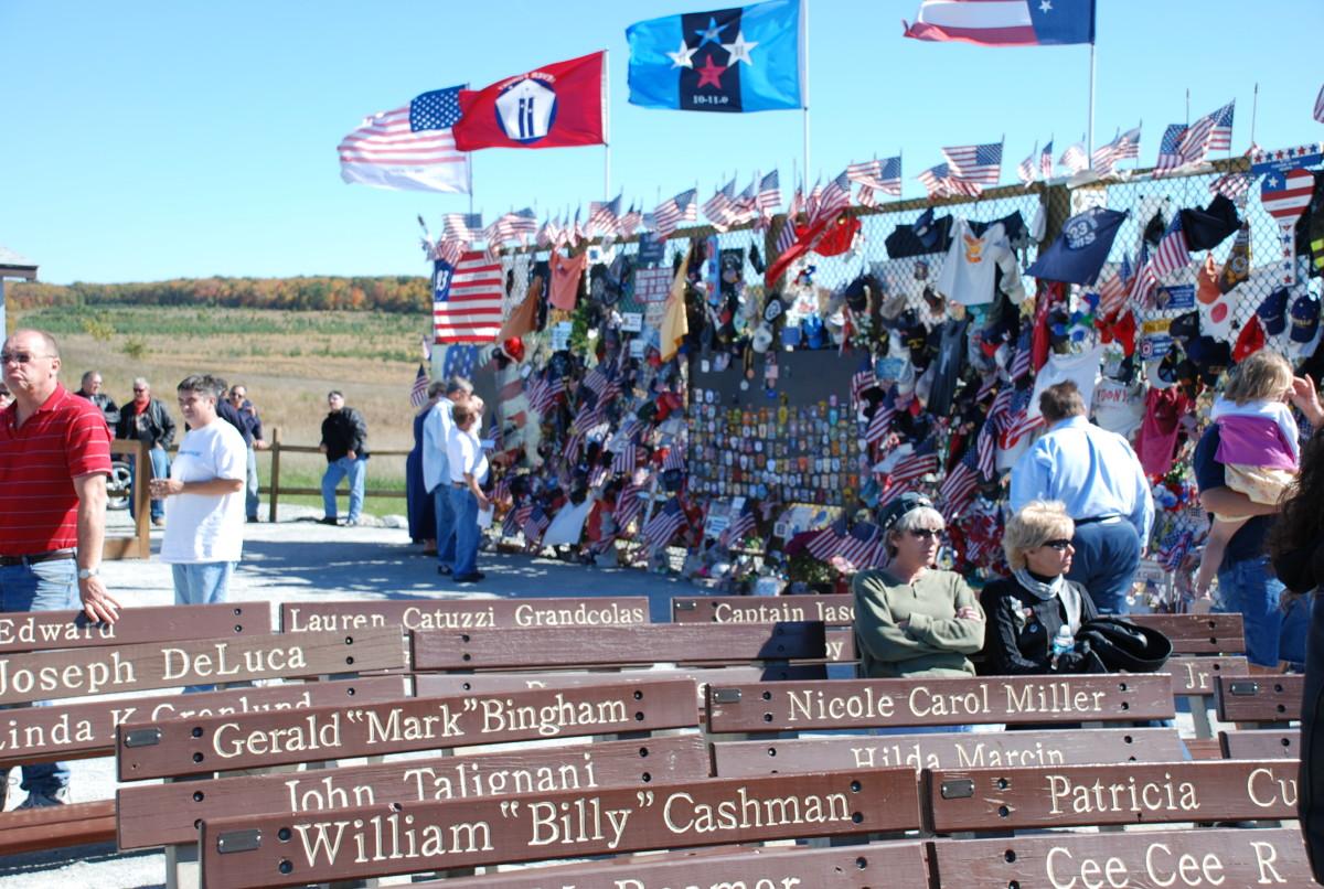 Temporary Flight 93 Memorial