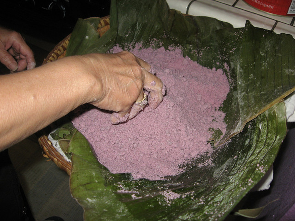 Purple Rice Mixture