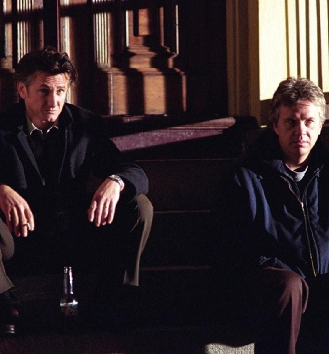 Tim Robbins and Sean Penn in Mystic River (2003)