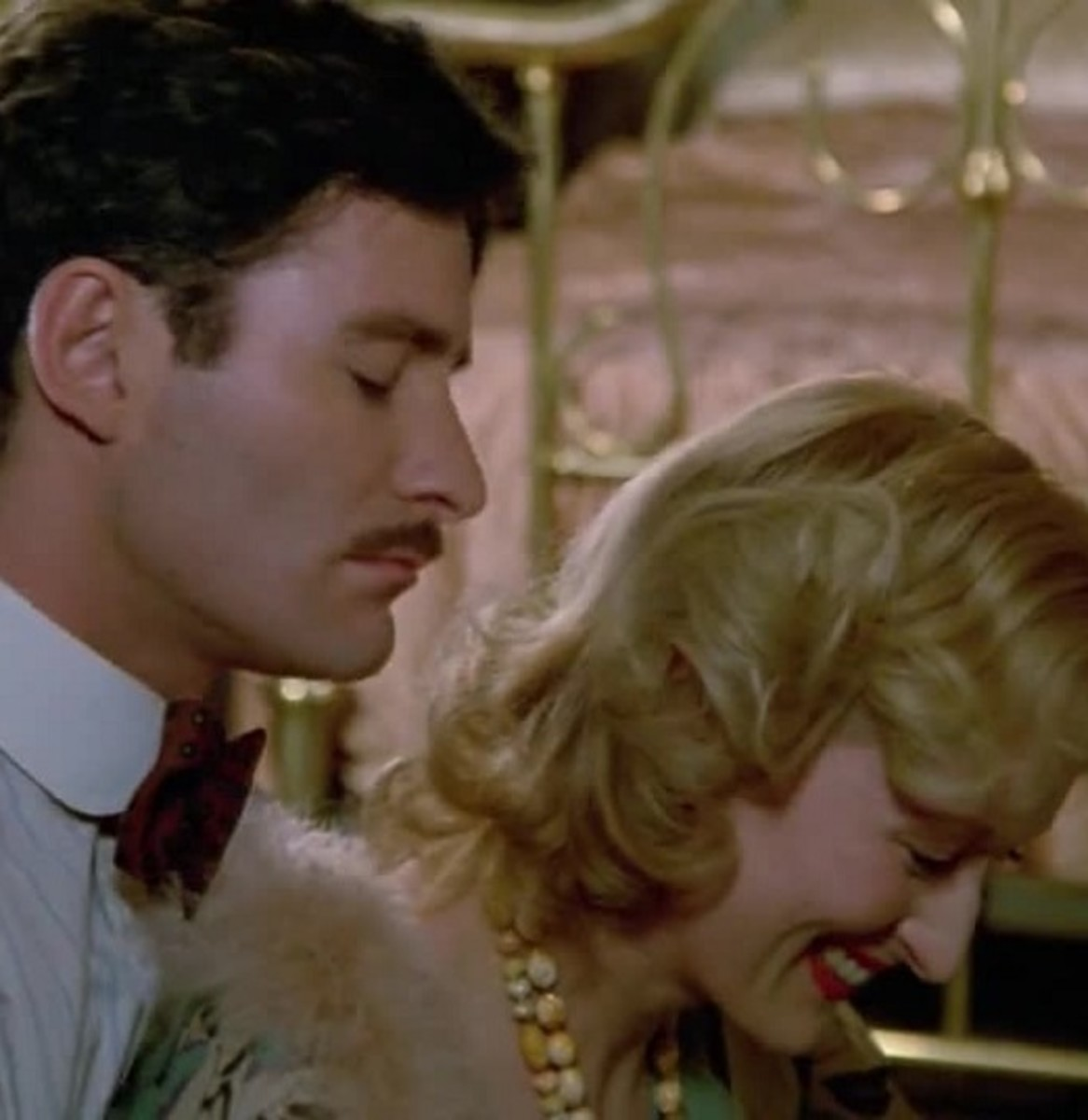 Meryl streep and kevin kline in Sophie's Choice.