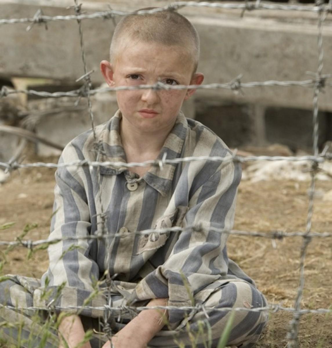Jack Scanlon in The Boy in the Striped Pyjamas (2008)