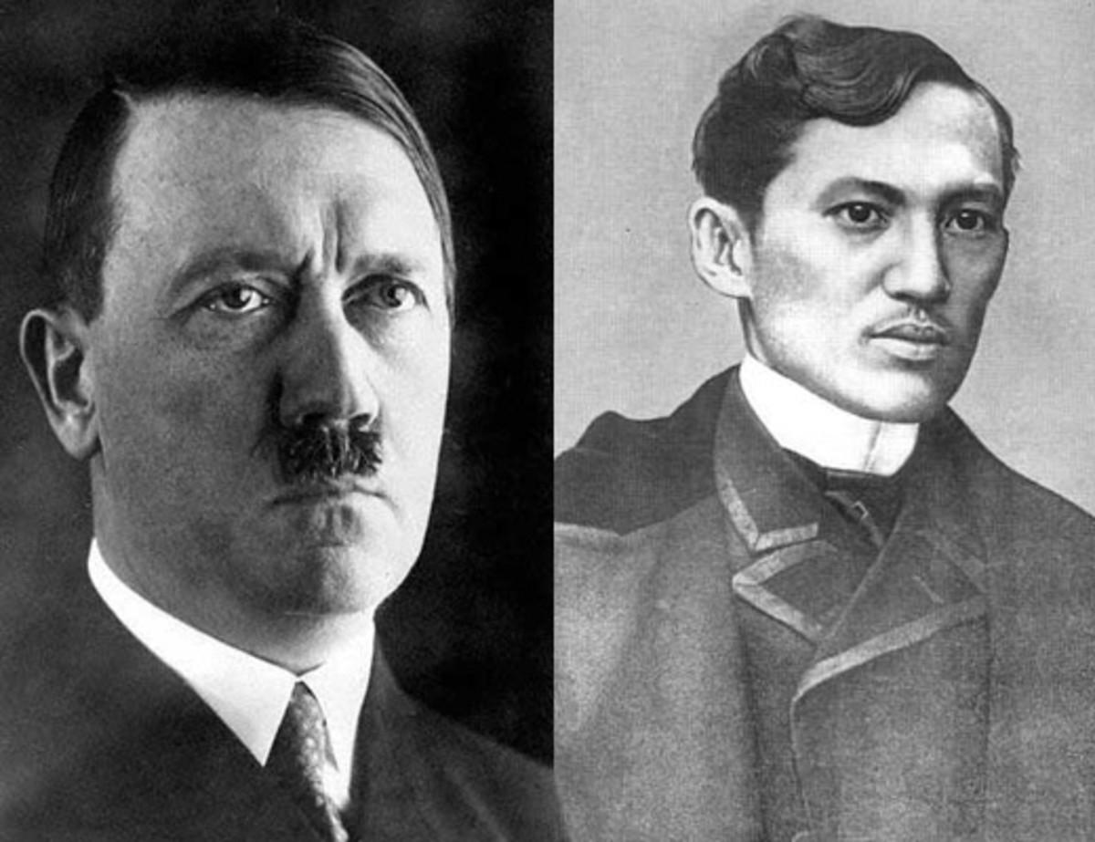 Adolf Hitler and Jose Rizal