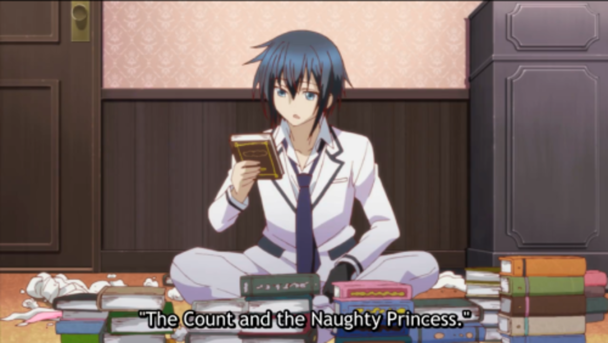 Kamito in Claires room.
