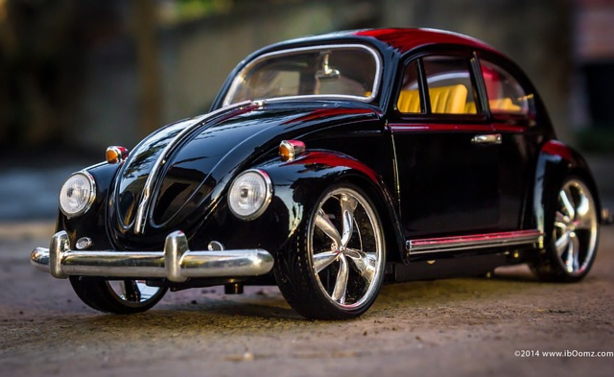 Photographing Toy Cars Realistically
