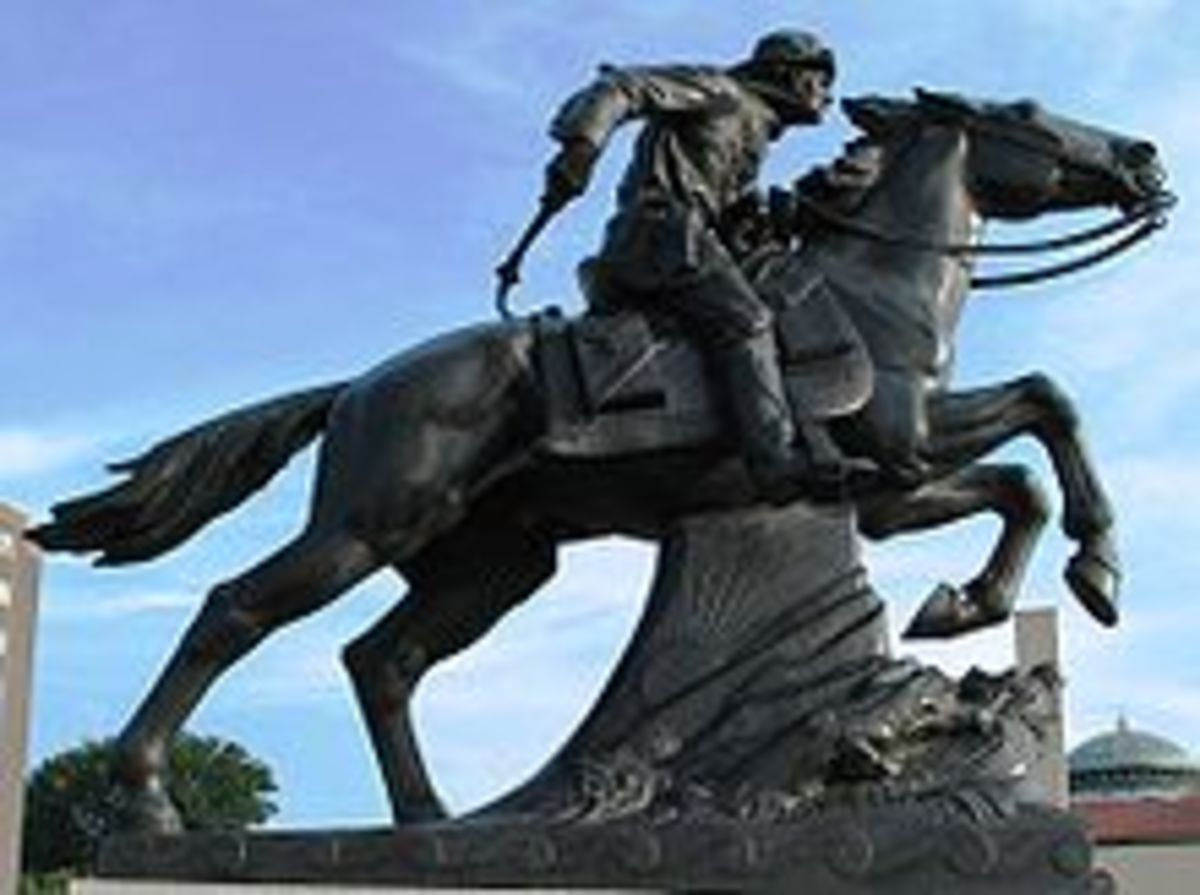 Pony Express statue, St. Joseph