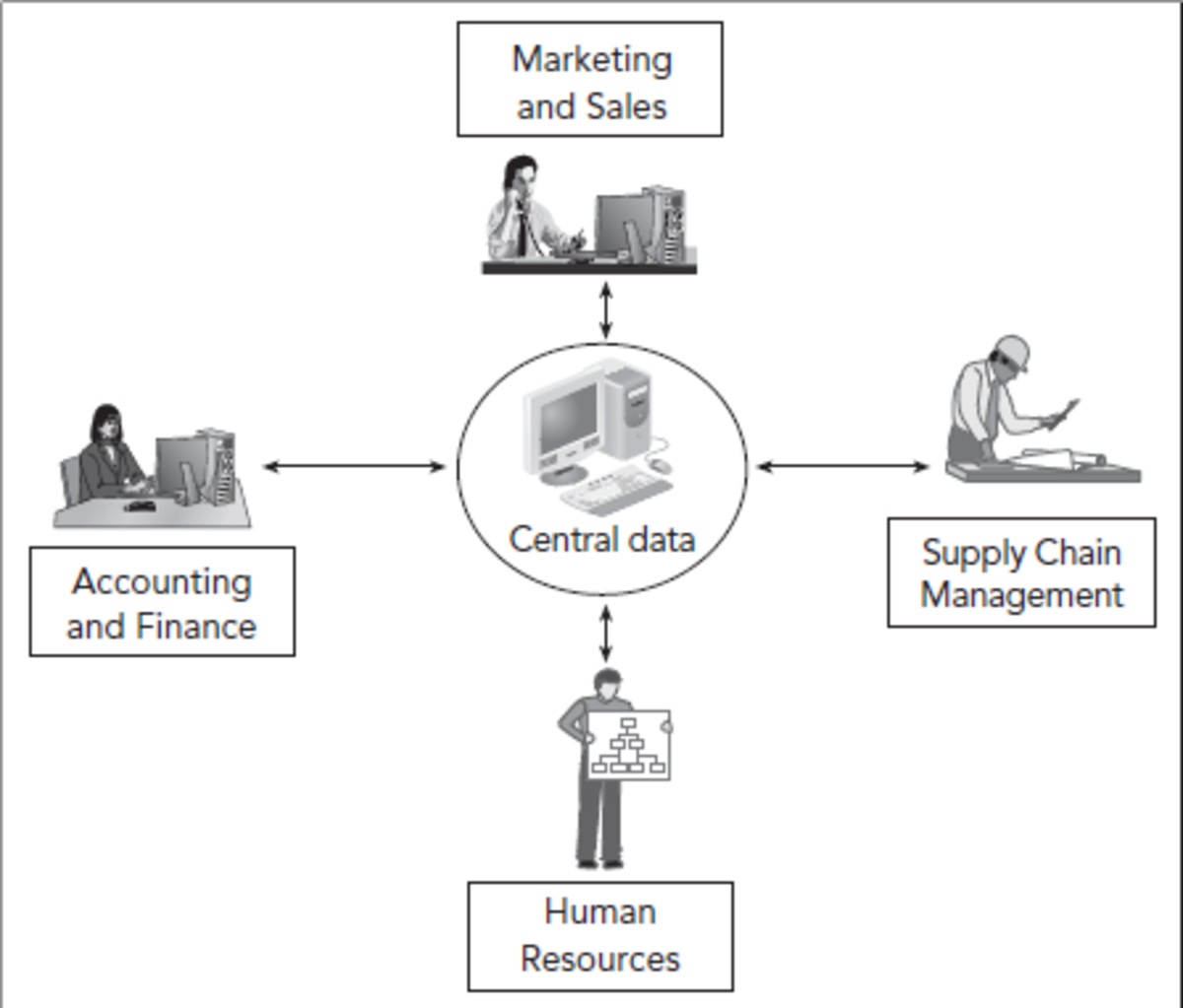 Basic functions of Enterprise Resource Planning (ERP) systems