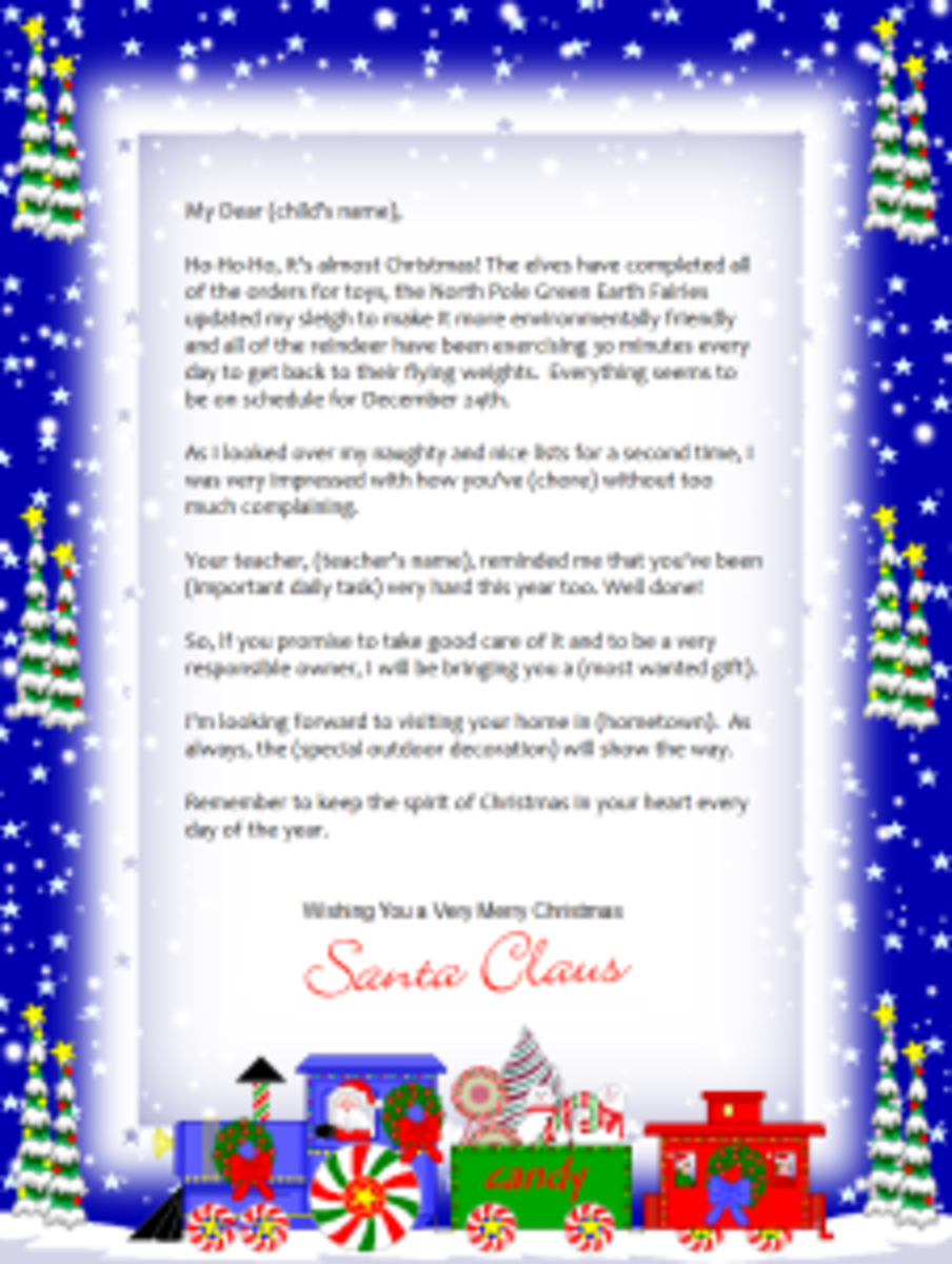 Noella Designs Brings You 12 Santa Letter Templates To Choose From.