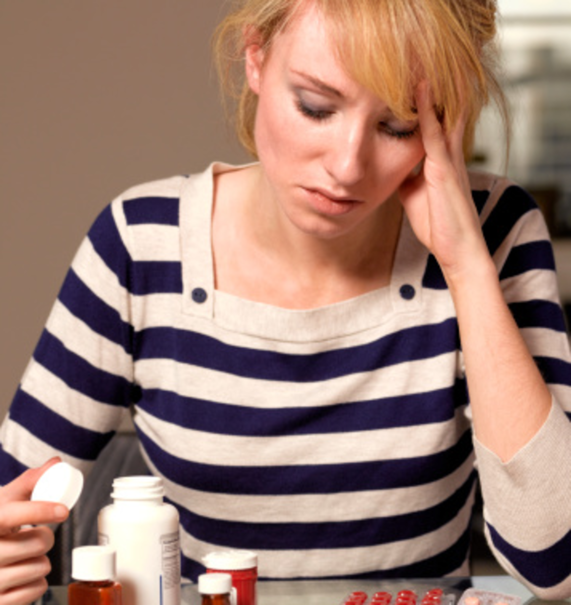 most of the side effects that you experience after taking an antifungal may be caused by die-off reaction of candida.