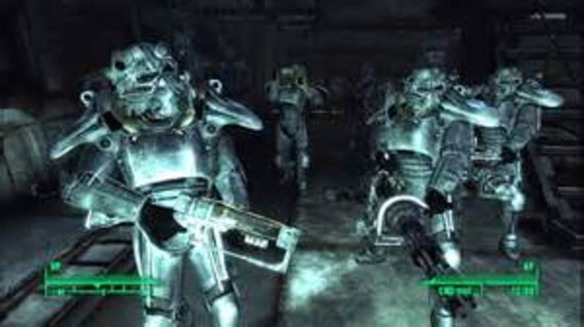 Here's power armor from Fallout 3. Now that Fallout 4 is out, this power armor is garbage.