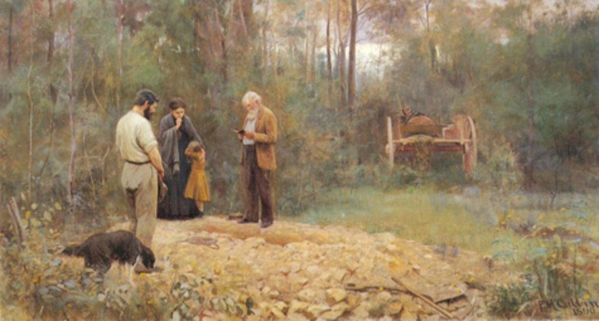 Australian Artists and Painters (#2): Frederick McCubbin