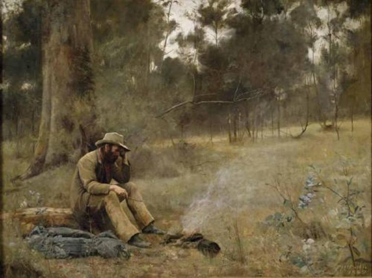 """""""Down on His Luck"""" (1889)"""