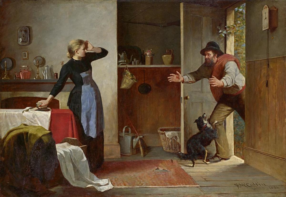 """""""Home Again"""" (1884)"""
