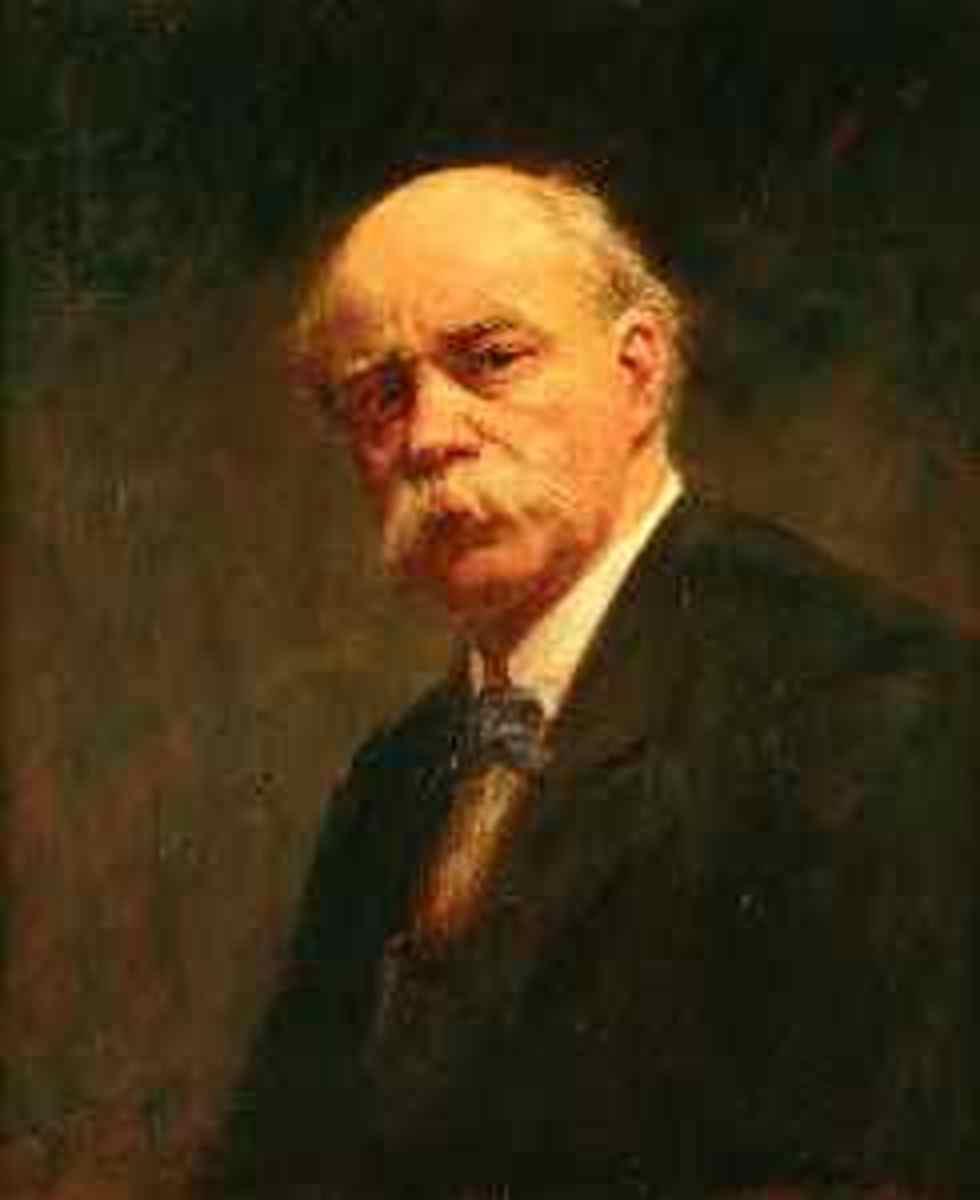 Self-portrait by Frederick McCubbin (1913)