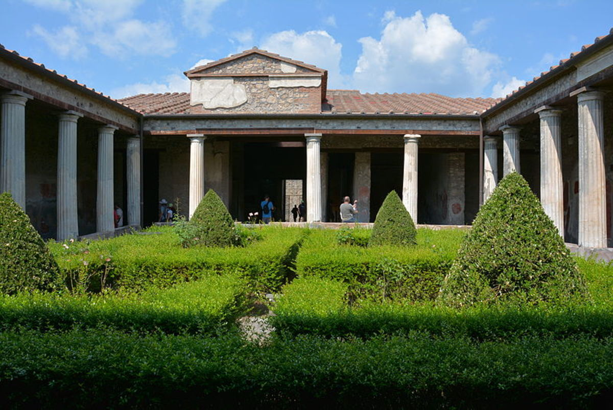 House of Menander, Pompeii