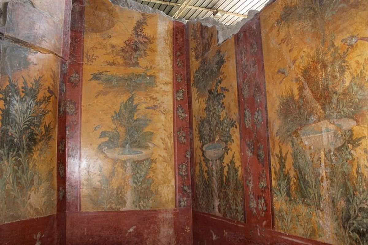 Fresco from Villa Poppaea, Pompeii