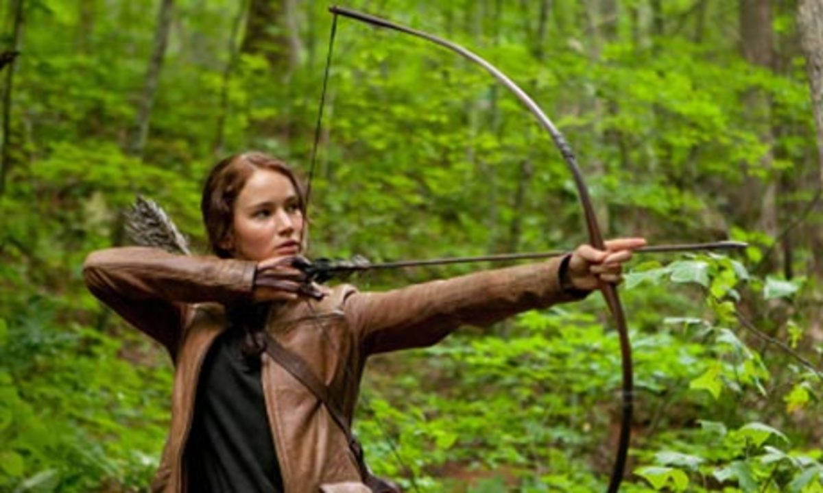 A girl who wants to be like Katniss would love to learn to shoot a recurve bow!
