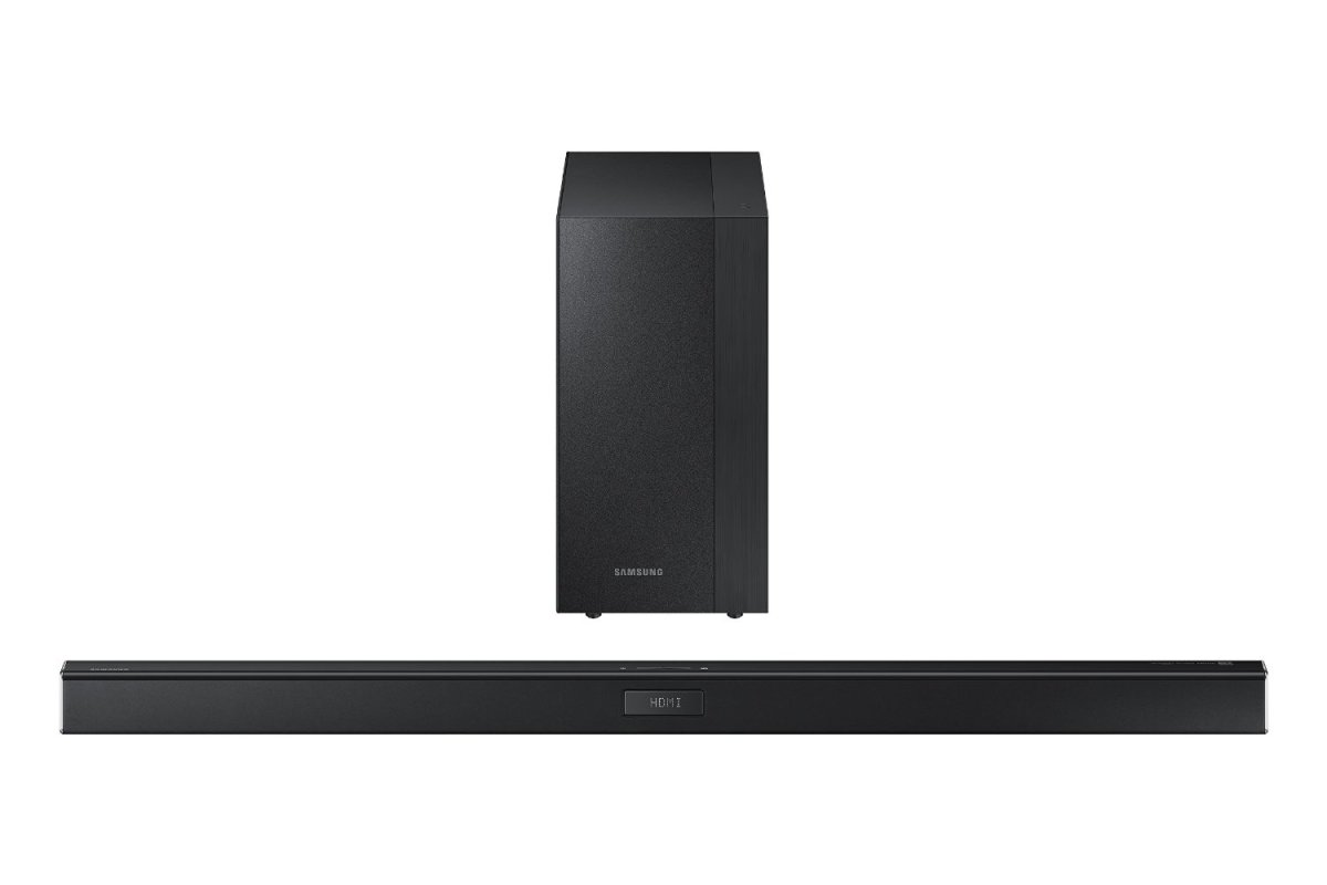 Samsung HW-J450 sound bar.