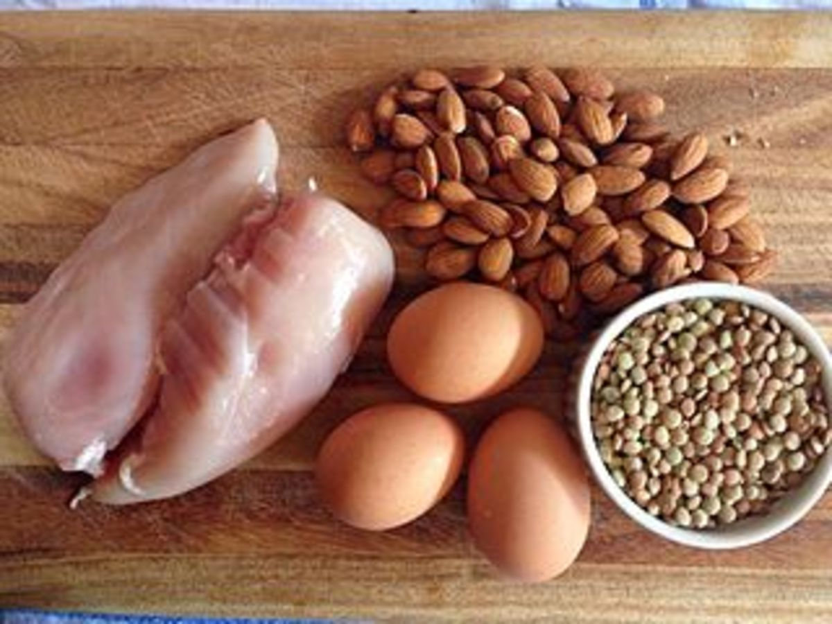 A few examples of protein rich foods